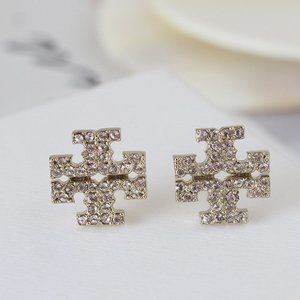 🎁NWT Tory Burch Classic Stud Earrings